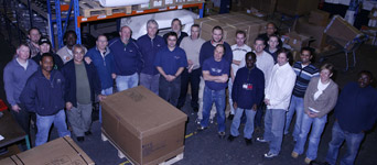 Mini Spares Warehouse Staff 2008