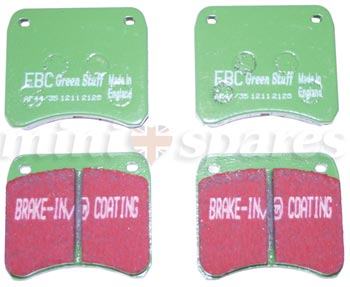 C-AHT223GREEN - Mini brake pads green kevlar 998cc