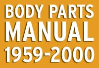 Classic Mini Body Parts Manual 1959-2000
