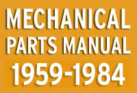 Classic Mini Mechanical Parts Manual 1959-1985